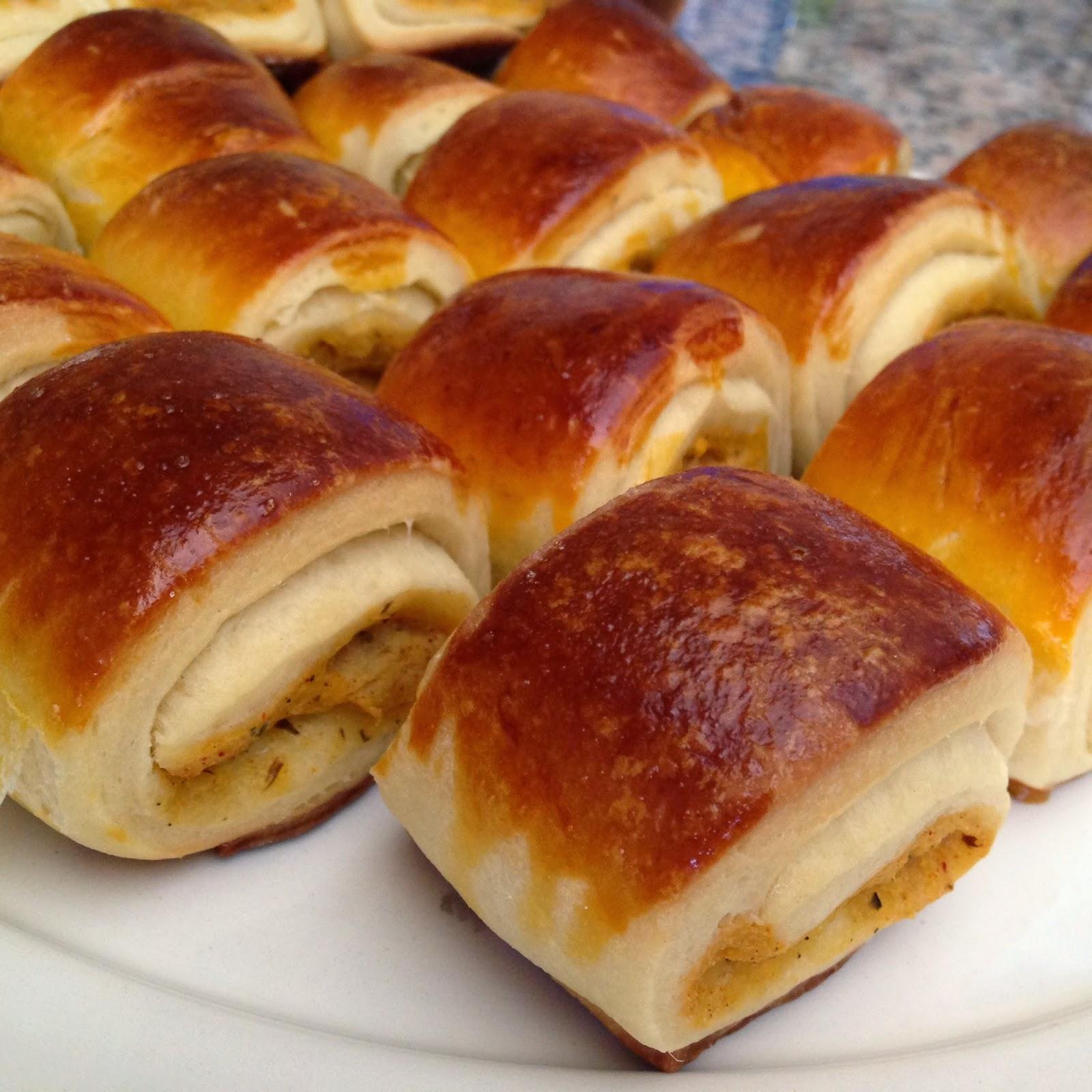 Peynirli Patatesli Rulo Poğaça