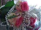Älskar rosor och pärlor