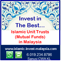 The Best Islamic Unit Trusts (Mutual Funds)