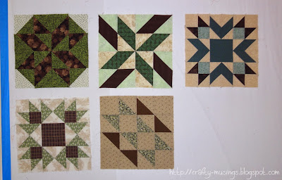 Chocolate Marshmallow Sampler blocks 1-5