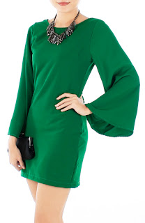 Emerald Green Dress on Fashion Clicks   Just Click Your Way To Fashion   Friday Shopping