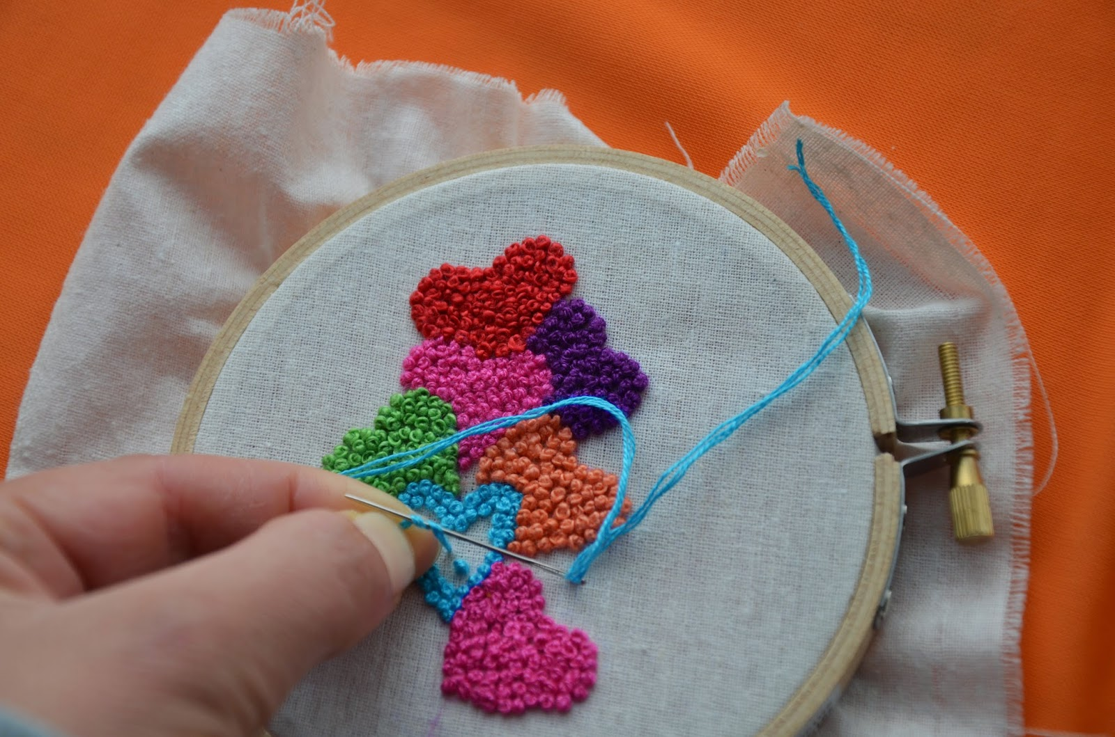 Tutorial: french knots