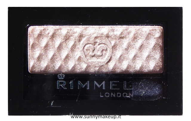 Rimmel - Glam'Eyes Mono: Swatch e review dell'ombretto 102 Backstage