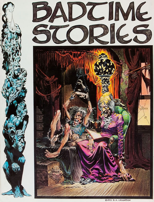 Image result for Wrightson badtime stories