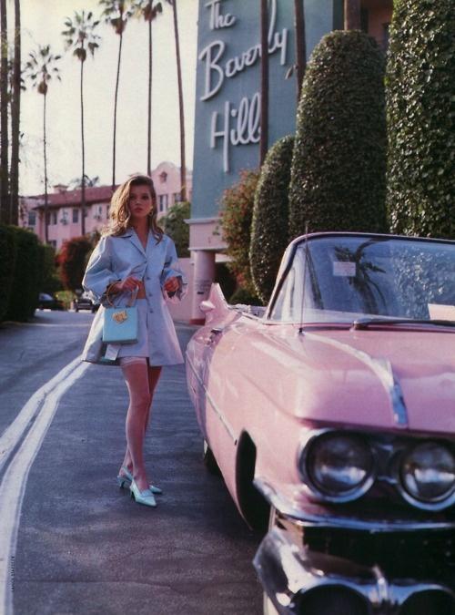 A retro Kate Moss