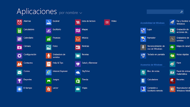 Apps Windows 8.1 Preview