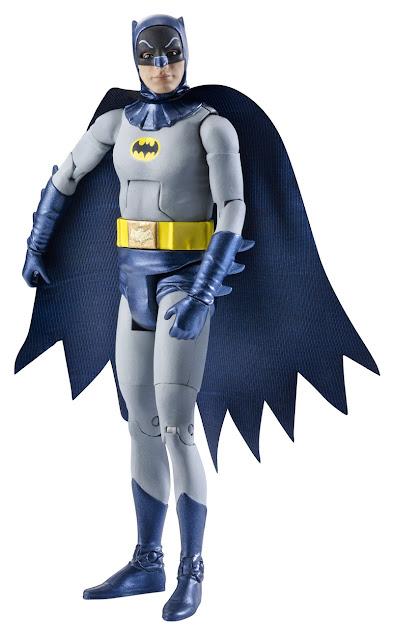 """Mattel 60's Classic Television Show Adam West 6"""" Batman figure"""