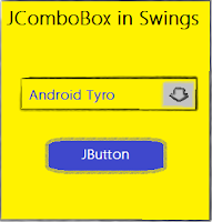 jcombobox in swings