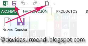 Usamos imágenes de los controles nativos de Excel