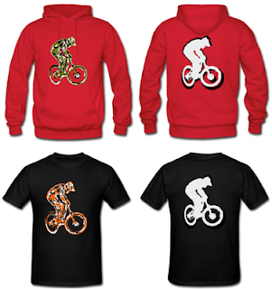 Mountain Bike Shirt Hoodie