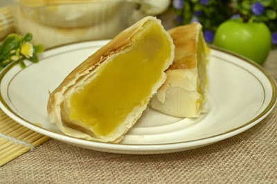Ilustrasi kue durian yang nikmat