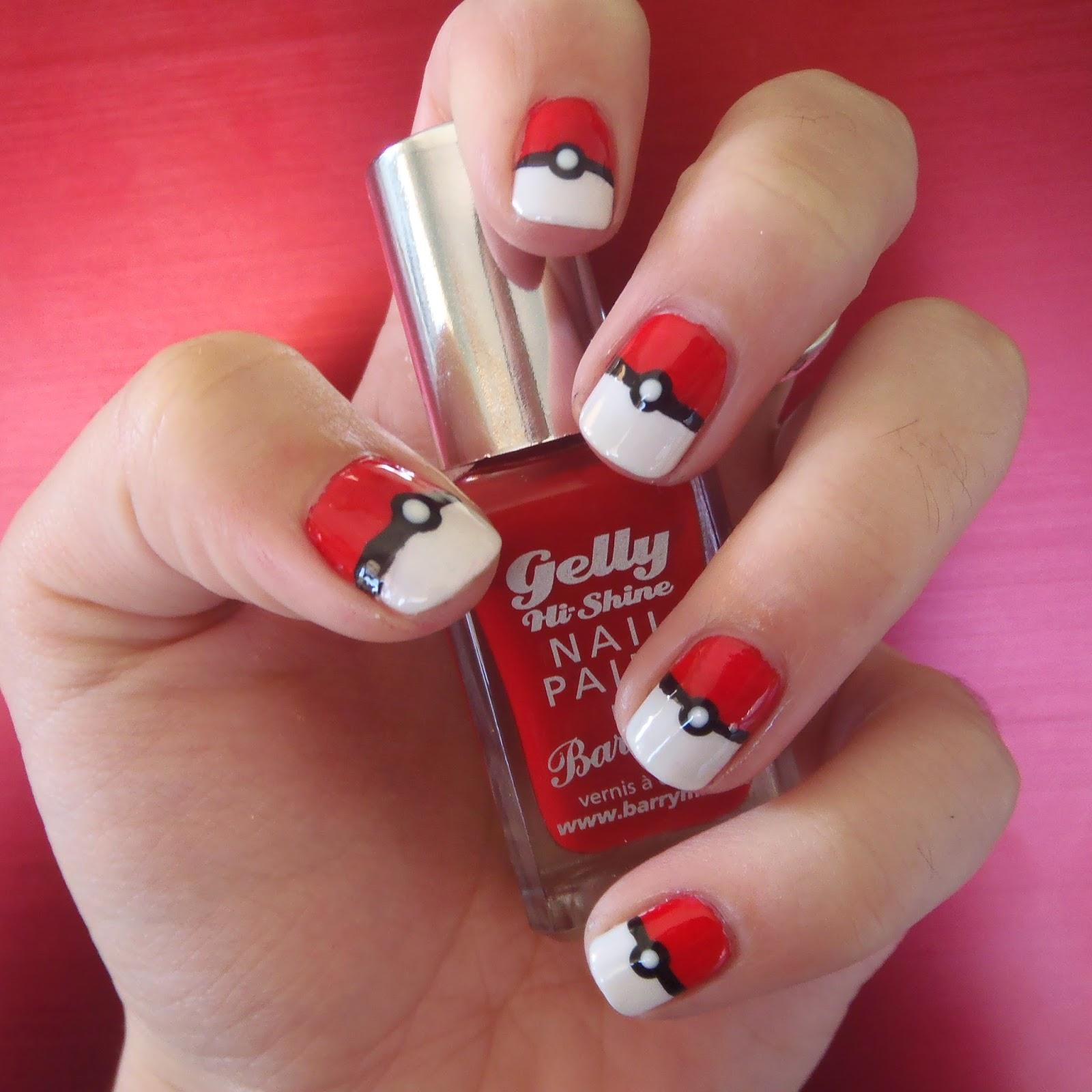 Gormay Nails Pokball Nails
