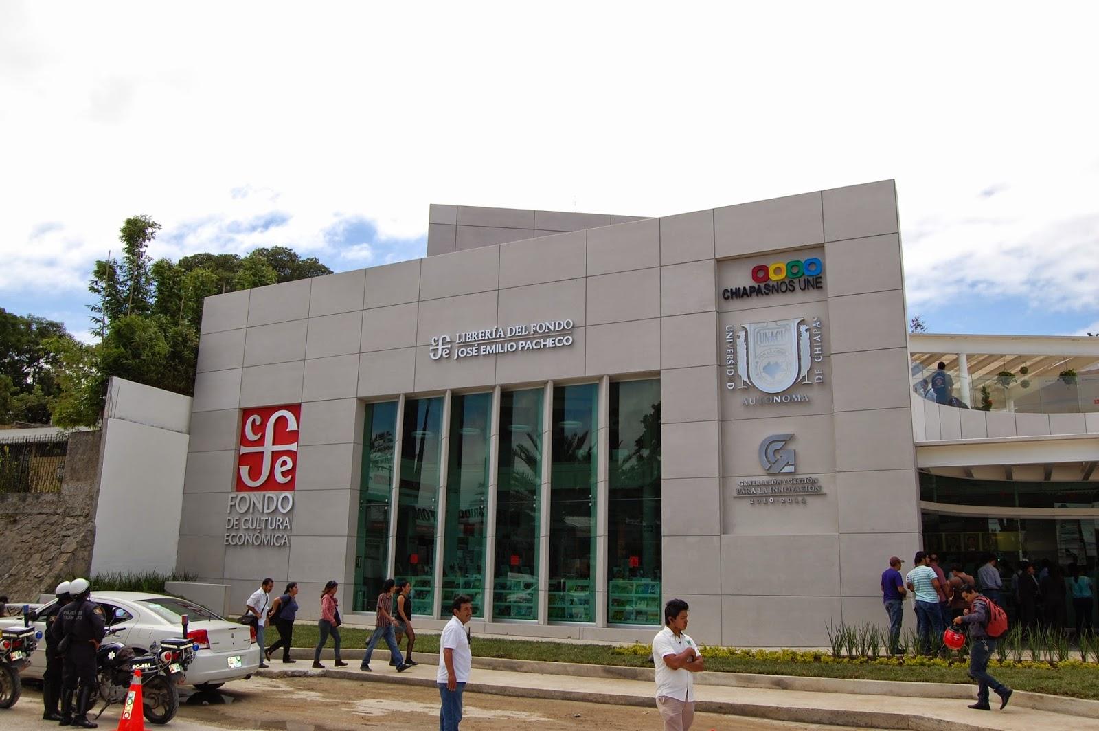 debatetuespacio: Abre el Fondo de Cultura Económica libreria en ...