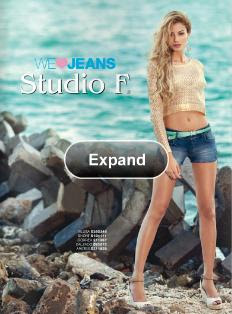 Catalogo Studio F We Love Jeans 2013