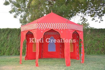 Artistic Indian Tent