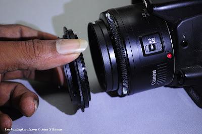 Macro Lens Reverse Ring