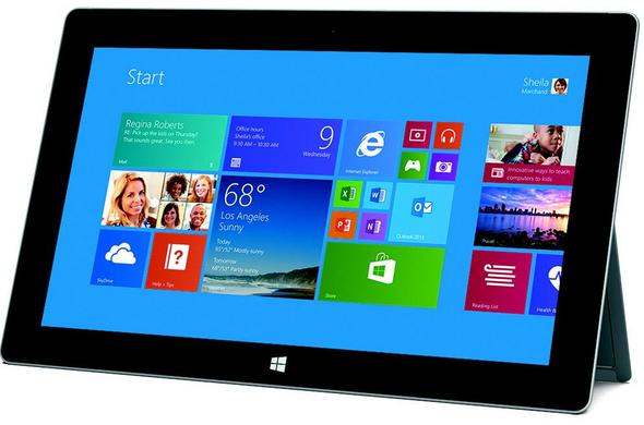 Microsoft Surface 2 RT - Full tablet specifications