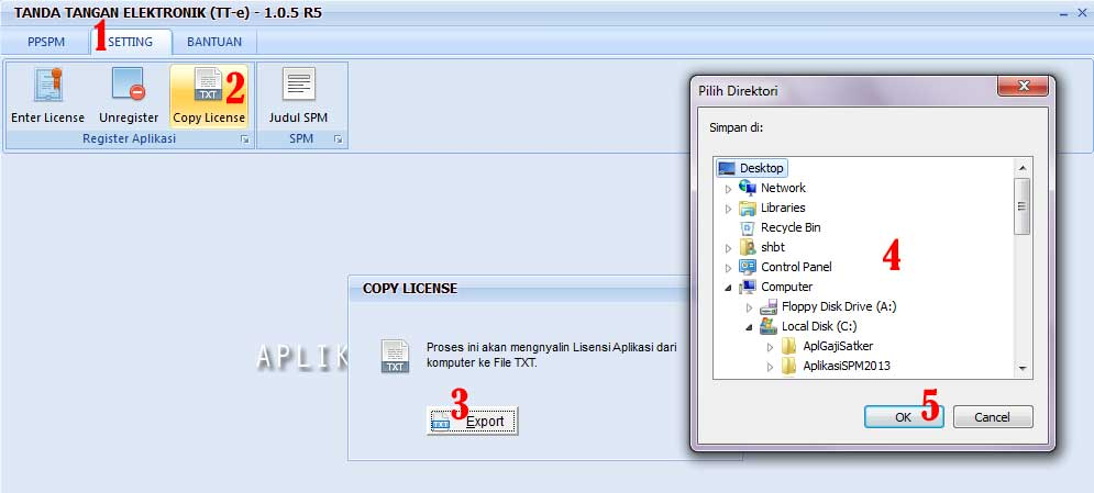 Download Aplikasi PIN PPSPM Versi 1.0.5.R5 Update Terbaru 20 Desember 2012