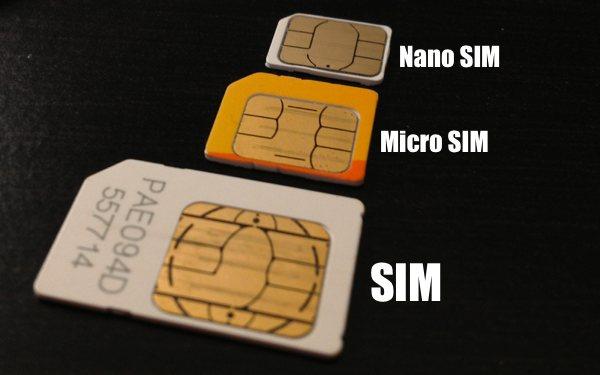 Tau Enggak Bedanya SIM Card Biasa Mini SIM Micro SIM