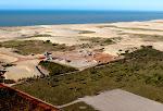 Foto aéria do Parque Eólico Rosa dos Ventos