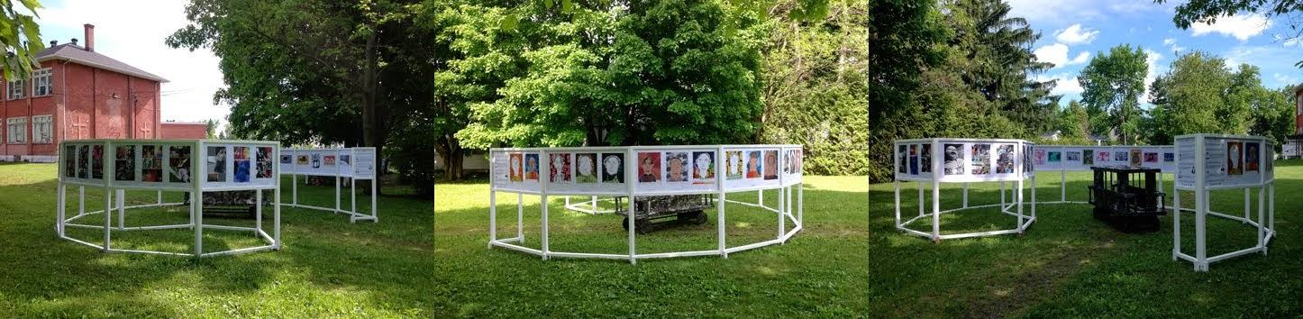 L'exposition au Parc John Sleeth