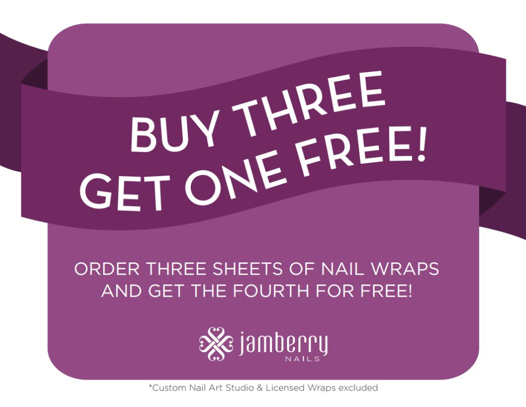 Megan's JAMAZING Jamberry! Buy 3 get 1 free!