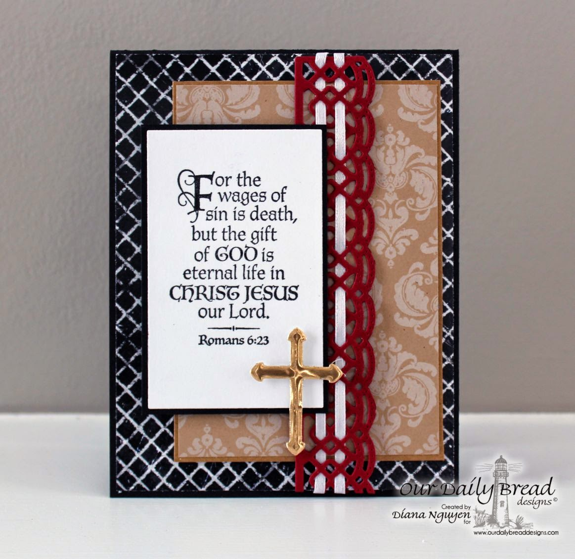 Diana Nguyen, Our daily Bread Designs, scripture, card