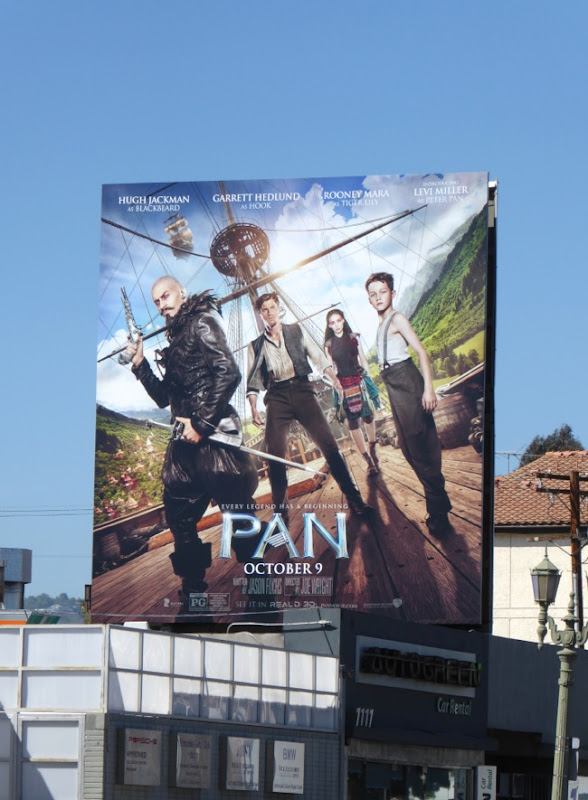 Pan movie billboard