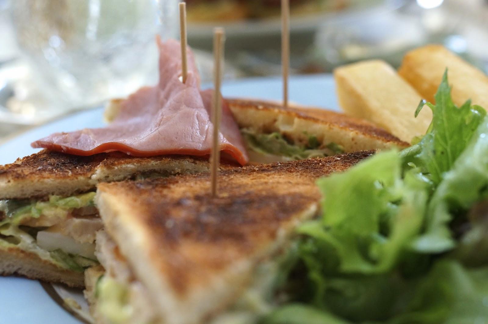 laduree paris club sandwich