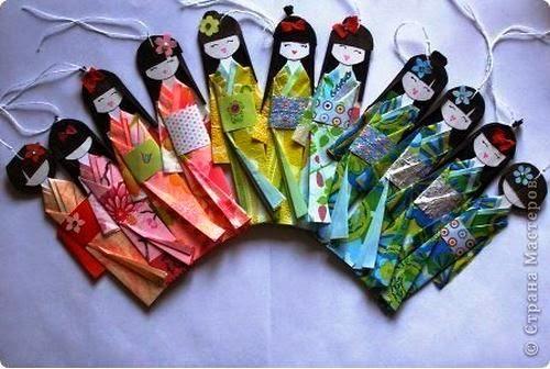 Куклы своими руками японские