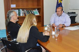 Em pauta, parceria para ampliação da rede de abastecimento de água e ações de educação ambiental