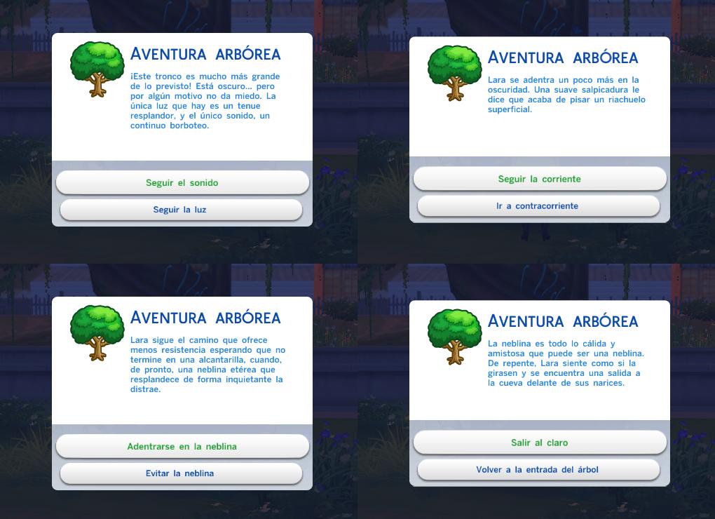 """Guía Sims 4: Desbloquear La """"Gruta Olvidada"""" y El """"Claro Silvestre"""" Arbol"""