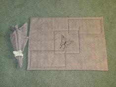 Padded Placemat and Napkin