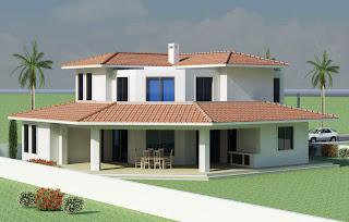 Furniture   Home Designs: Beautiful modern home exterior design idea ...
