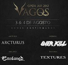 Overkill y Arcturus al Vagos Open Air