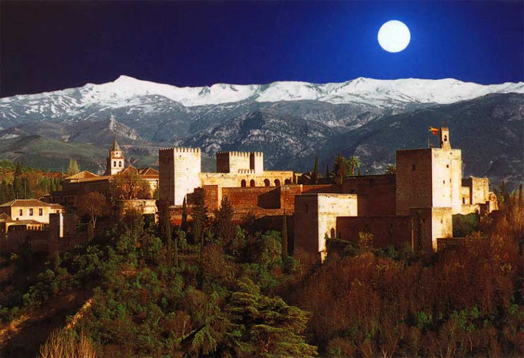 Alhambra de Granada España. La Alhambra es una ciudad palatina andalusi situada en GRANADA, ESPAÑA.
