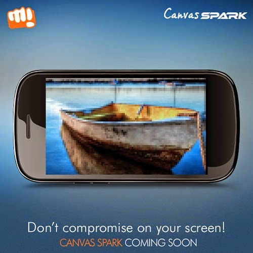 Micromax Canvas Spark‬: Budget Android Lollipop Smartphone - Snapdeal Exclusive
