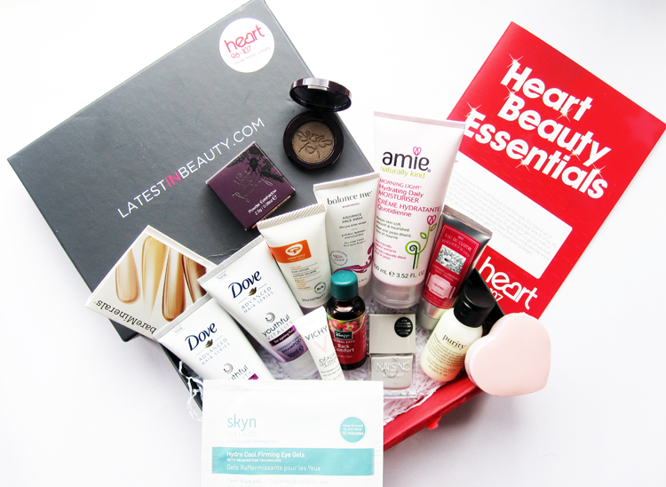 Latest In Beauty's Heart FM Beauty Essentials Box review