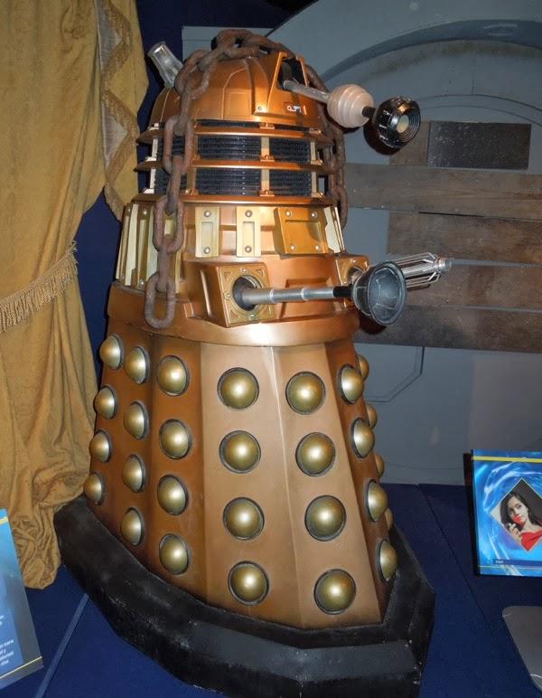 Oswin Dalek prop Asylum of the Daleks
