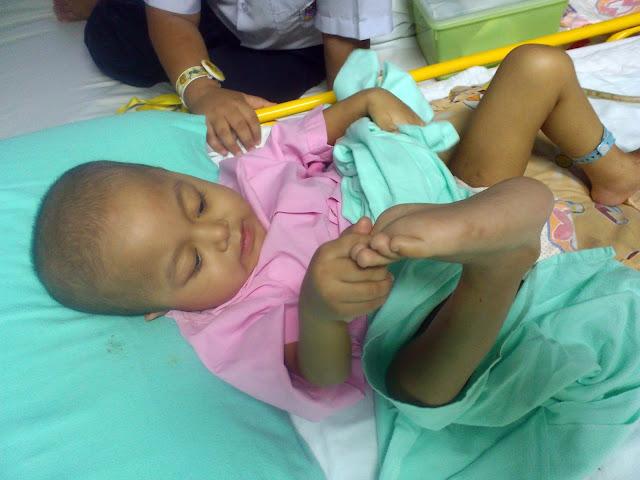 Rutin harian di wad KK4, Institut Pediatrik, HKL.