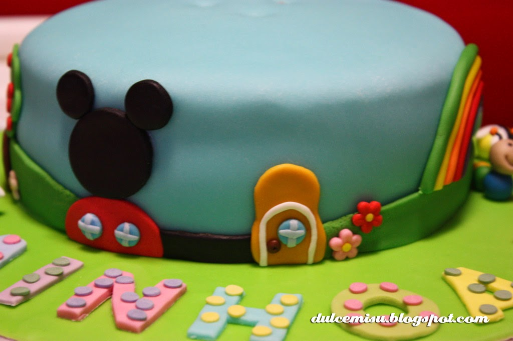 minie Dulcemisu reposteria creativa, tarta, fondant, Minnie