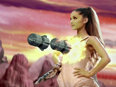 Ariana Grande Break Free Single Cover