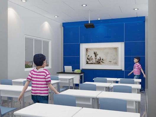 Exhibition Stand Design Sample : Jasa desain autocad ruang kelas guru