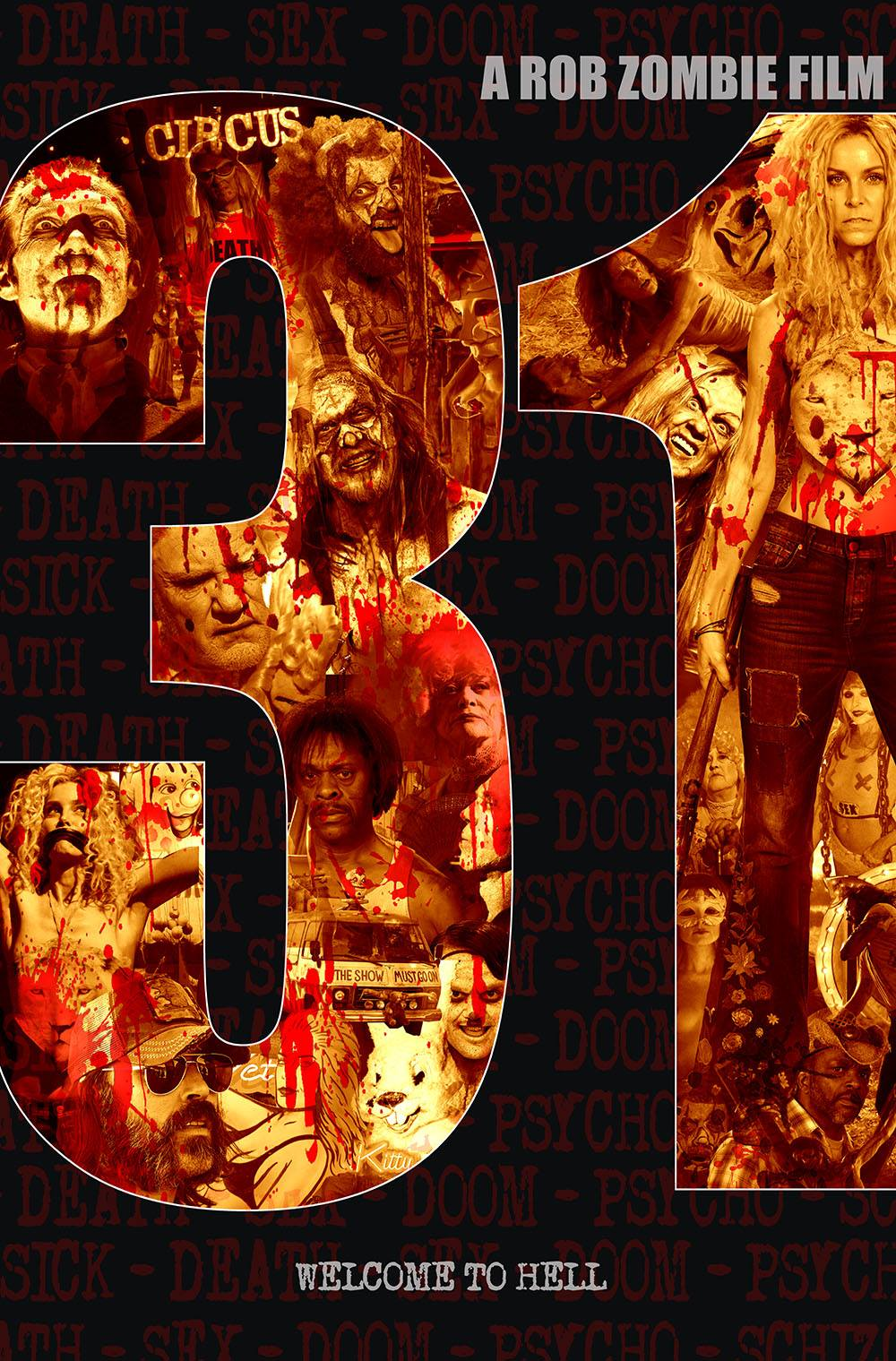 The Horrors of Halloween: Rob Zombie's 31 Poster and Stills