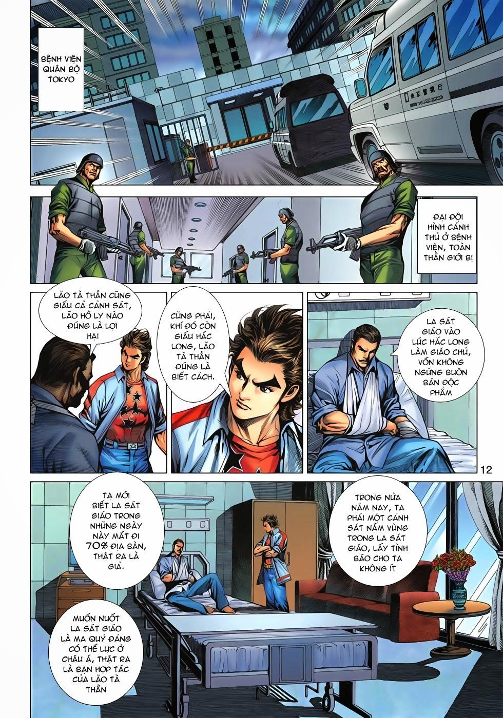 Tân Tác Long Hổ Môn chap 621 - Trang 9