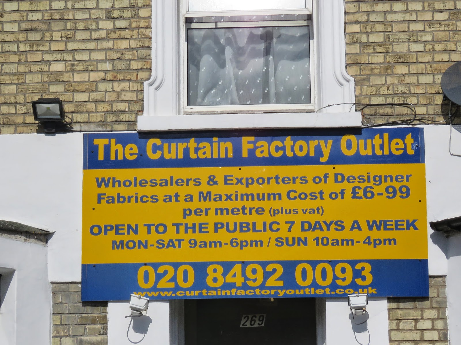 The Curtain Factory Outlet .