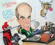 . of my recent caricature commissions for a retiring high school teacher.