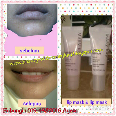 satin lip, lip balm & lip mask mary kay