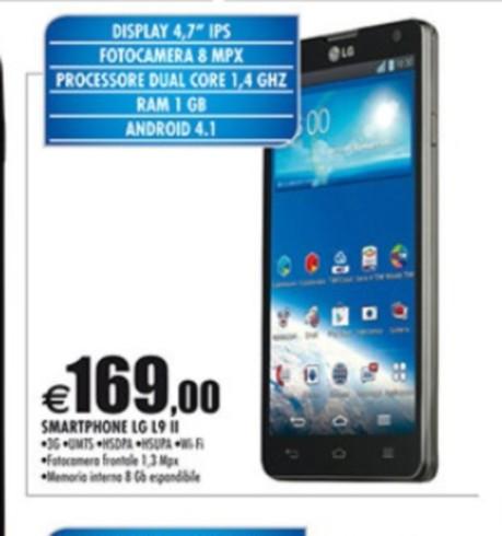 Offerta Auchan su Lg Optimus L9 II per i primi di maggio