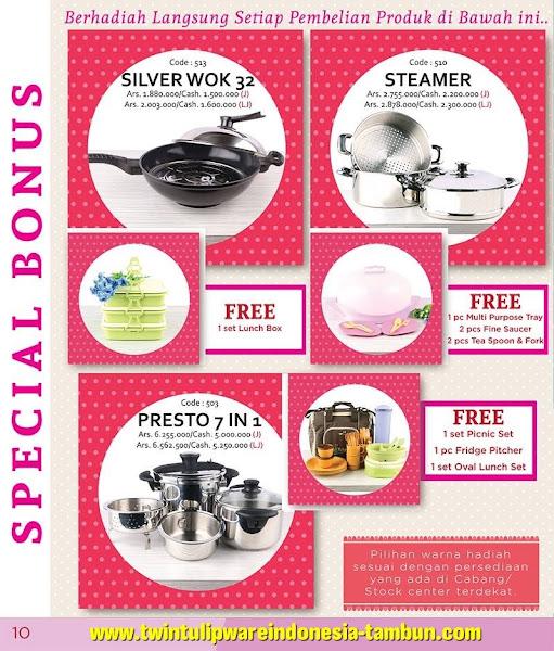 Special Bonus Februari 2016